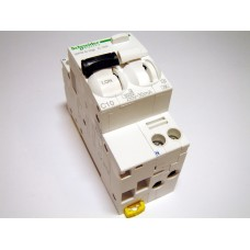 Residual current device with circuit breaker 1-phase, C 10A, 30mA (0.03A), Schneider Electric, Acti 9 iDPN N Vigi, A9D32610, 047205