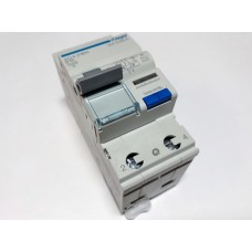 Residual current device with circuit breaker 1-phase, B 25A, 30mA (0.03A), Hager, ADA225N, 102713