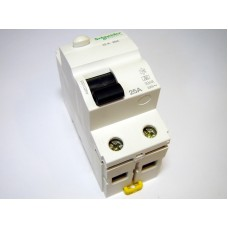 Residual current device 1-phase 25 A, 30mA (0.03A), Schneider Electric, Acti 9 K, A9Z01225, 048275