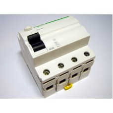 RCD 3-phase 40 A, 30mA (0.03A), Schneider Electric, A9Z01440, Acti 9 K, 048278