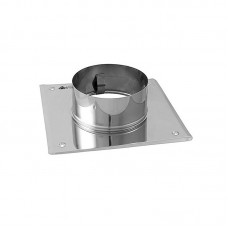 Stainless steel chimney plate 80mm