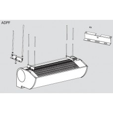 Ceiling mounting kit for ADPF 1 for Frico AD