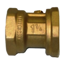 "Connection nut with valve RP 1½"" x RP 1"""